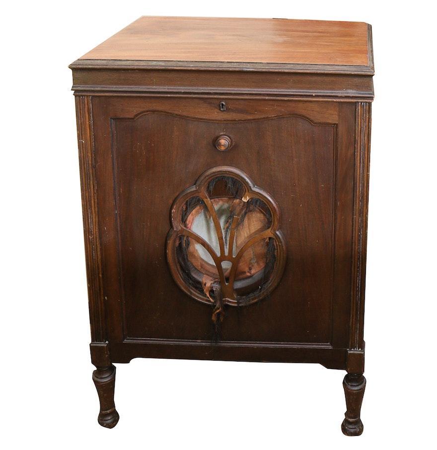 Antique Gramophone Cabinet ... - Antique Gramophone Cabinet : EBTH