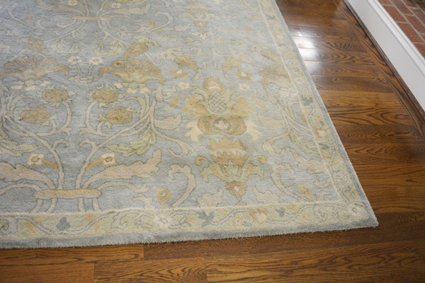 Pottery Barn Hand Tufted Wool Quot Darby Quot Area Rug Ebth