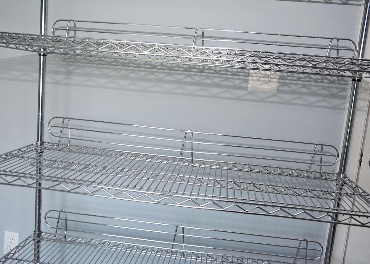 Nsf Chrome Wire Shelving Unit Ebth