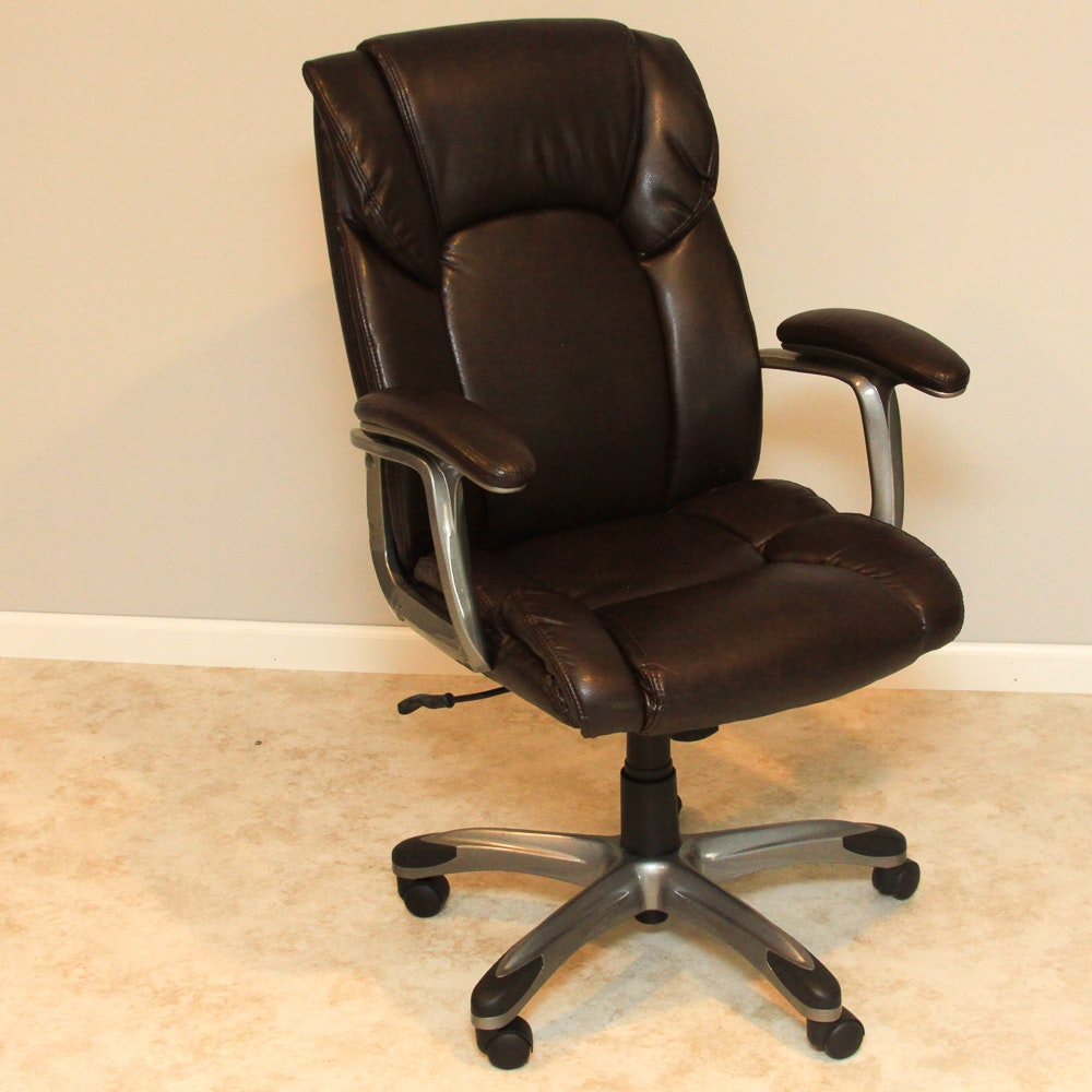 Dongguan Shinyang Rolling Leather Desk Chair EBTH