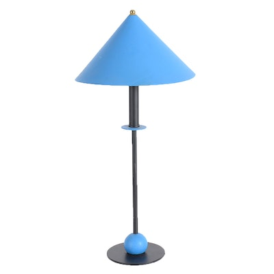 Memphis Style Geometric Modernist Table Lamp