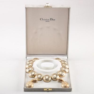Christian Dior Choker and Earring Demi Parure