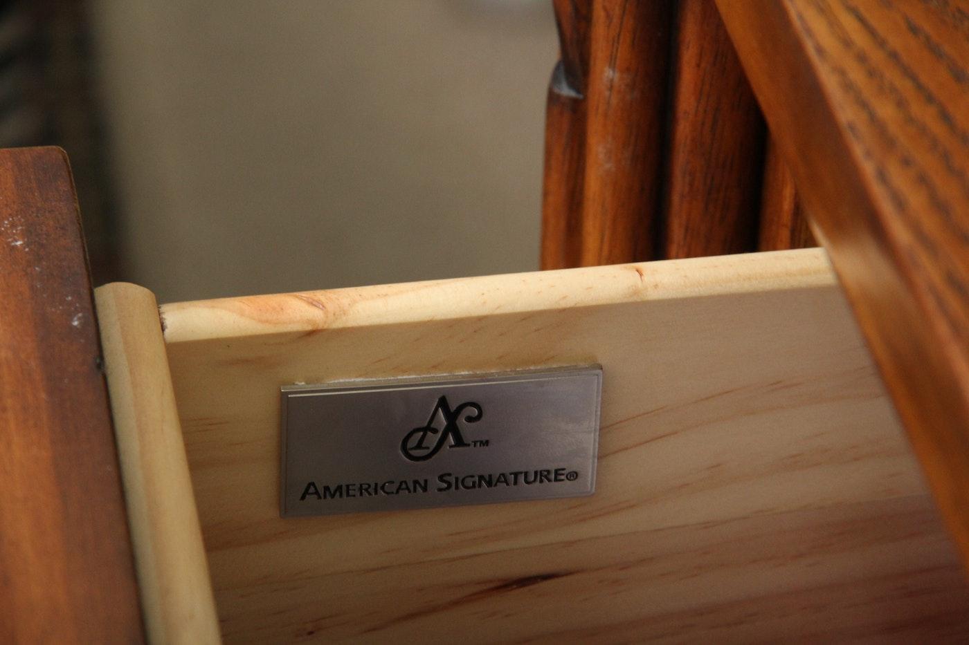 American Signature Quot West Indies Quot Dresser With Mirror Ebth