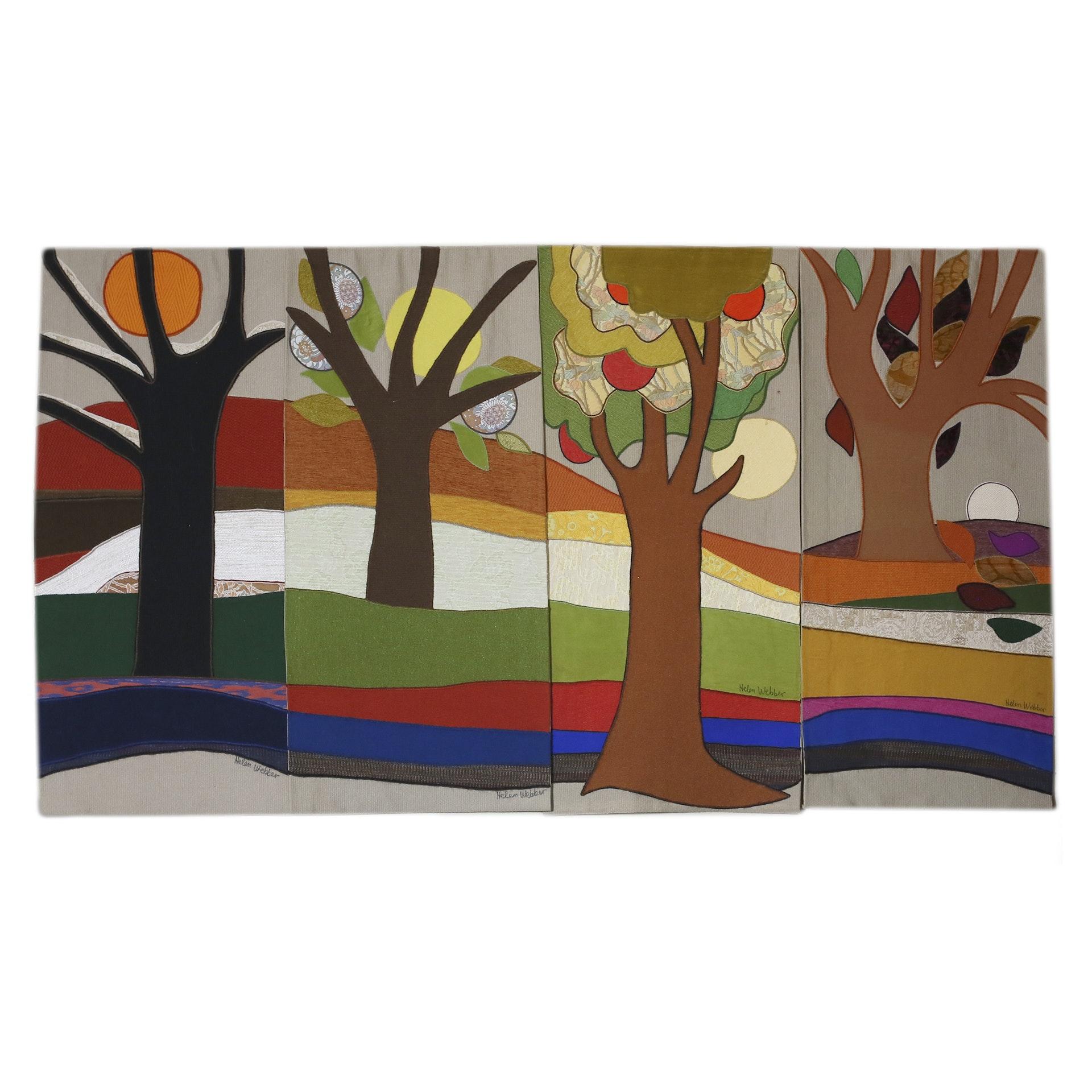 Helen Webber One-of-a-Kind Original Tapestry