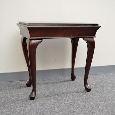 Broyhill Queen Anne Style End Tables Ebth