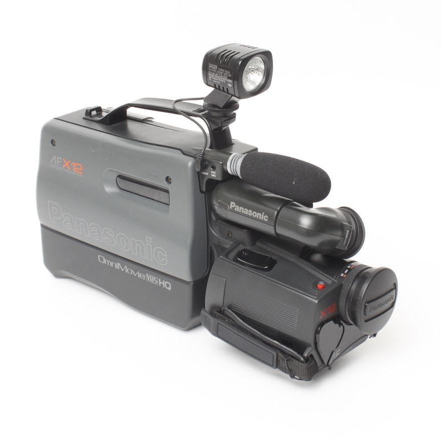 1980s Panasonic Omnimovie Afx12 Camcorder Ebth