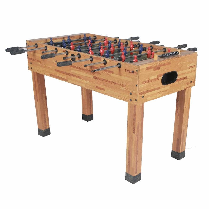 Voit Soccer Tournament Foosball Table EBTH - Tournament soccer foosball table