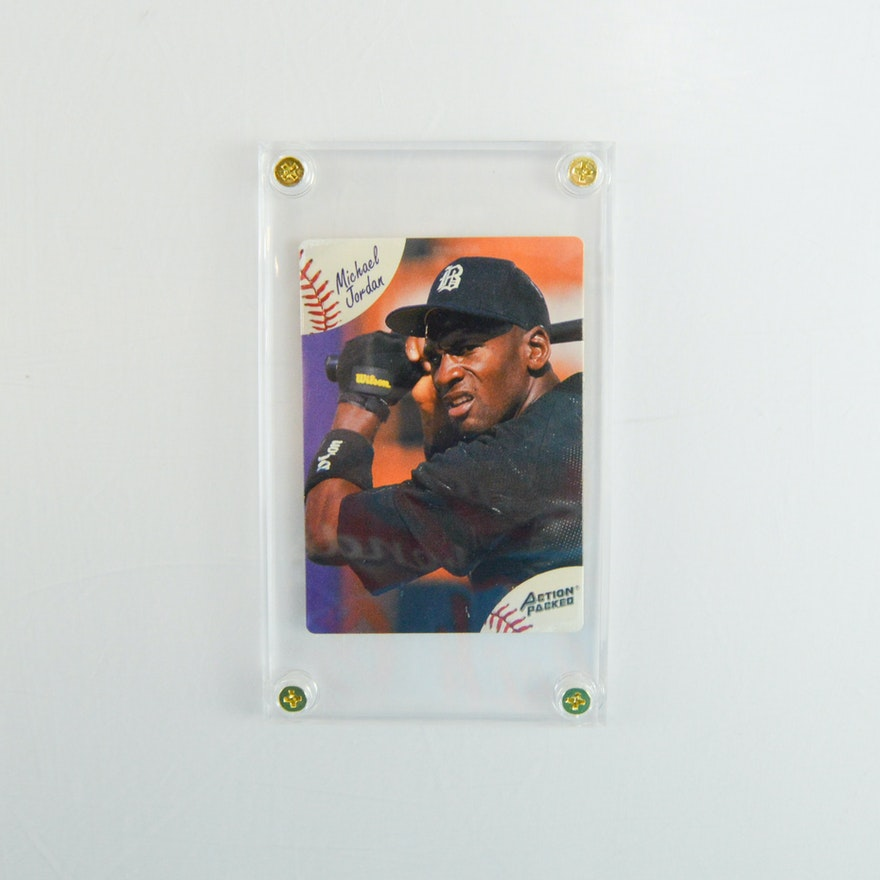 1994 Action Packed Michael Jordan Baseball Card 23