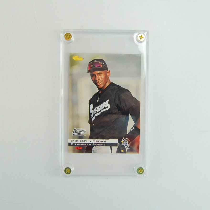 1994 Classic Michael Jordan Baseball Card 1