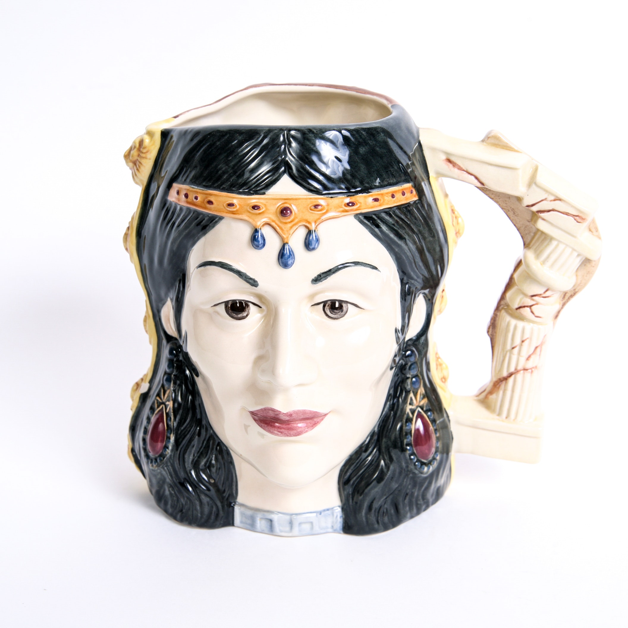 """Limited Edition Royal Doulton Star-Crossed Lovers Collection """"Samson & Delilah"""" D.6787 Toby Jug"""