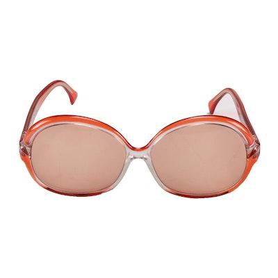 Lanvin Rose-Tinted Mod Sunglasses
