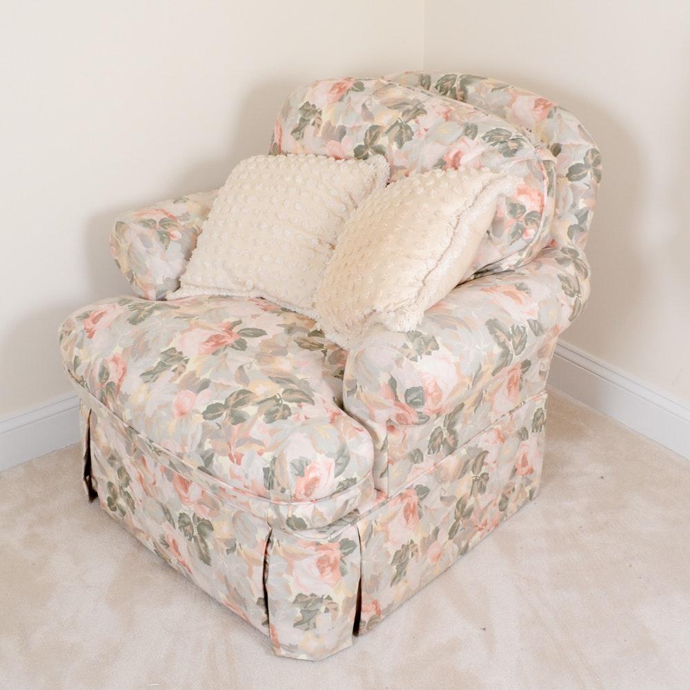 Bernhardt Floral Club Chair ...
