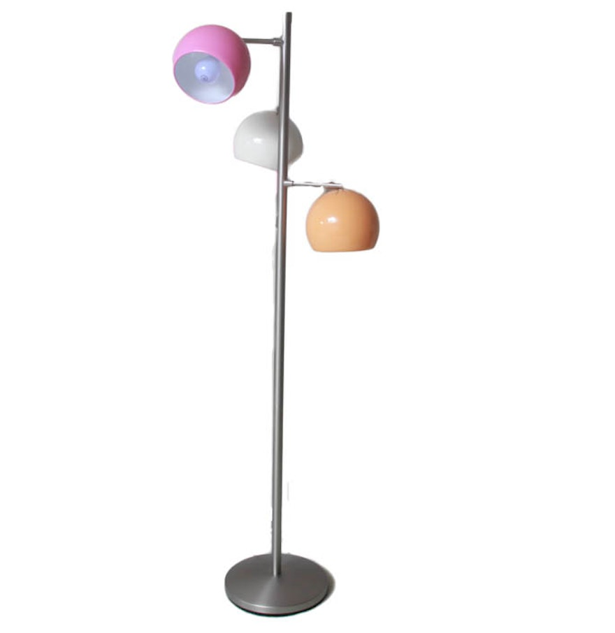 Colorful multi light floor lamp ebth for Multi led floor lamp