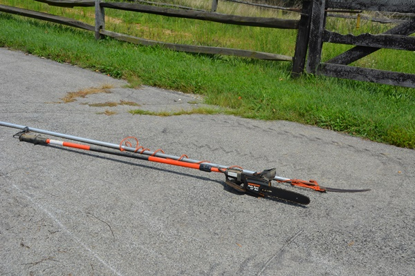 remington 8  electric telescoping pole saw 10 quot  bar and manual tree pruner ebth Harbor Freight Electric Pole Saw Remington 10 Pole Saw Parts