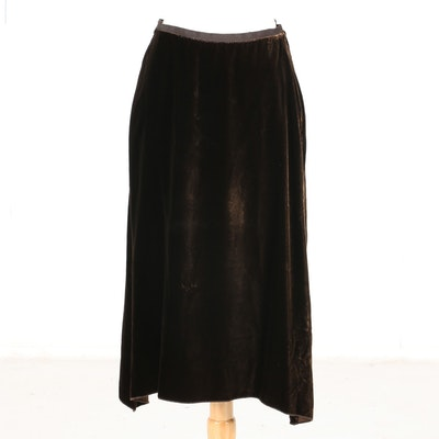 Black Prada Skirt