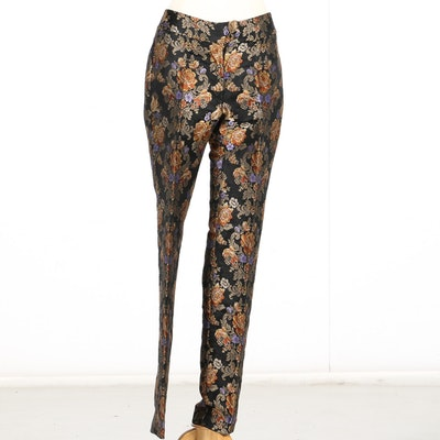 Women's Dolce & Gabanna Floral Jacquard Trousers
