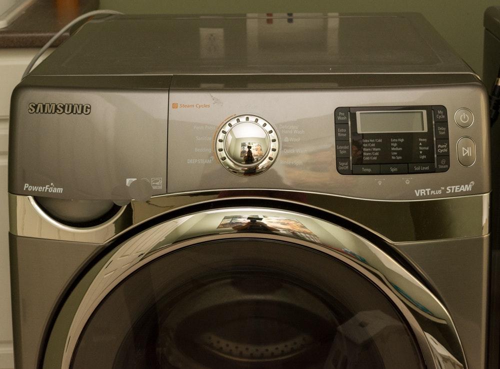 samsung washing machine steam