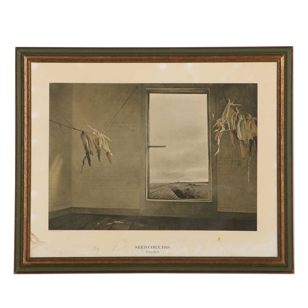 Reproduction After Quot Edge Of Field Quot By Andrew Wyeth Ebth