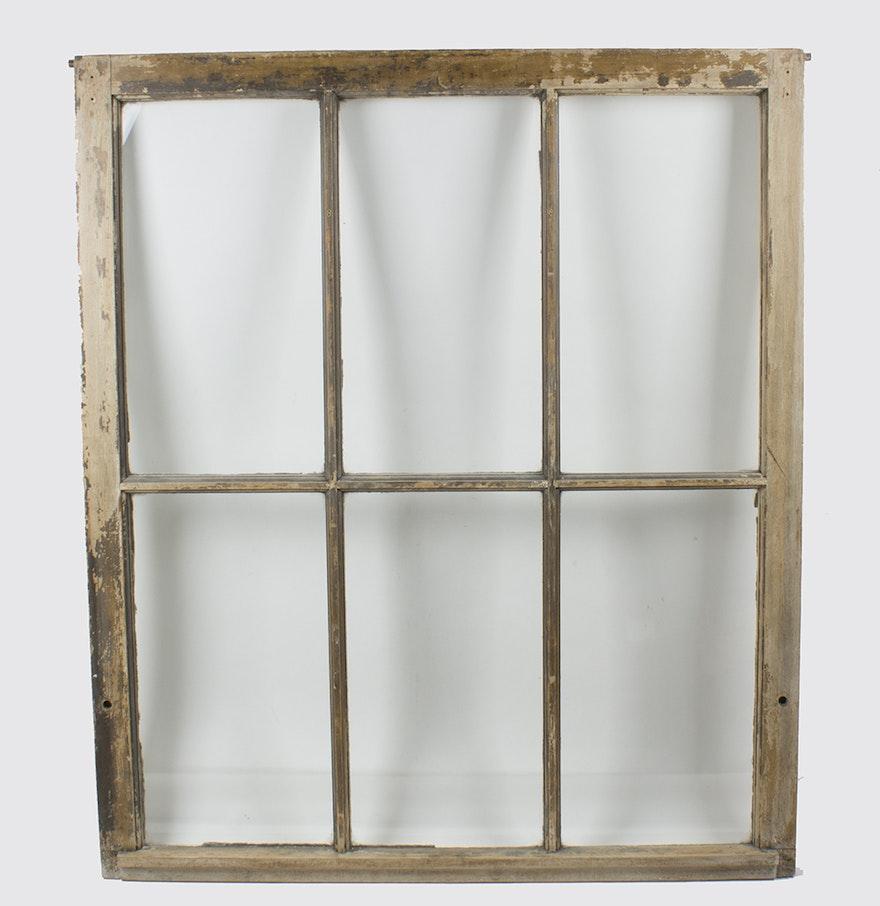 antique distressed wood window frame - Distressed Window Frame