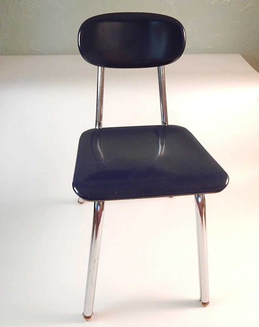 Vintage Melsur School Desk Chair Ebth