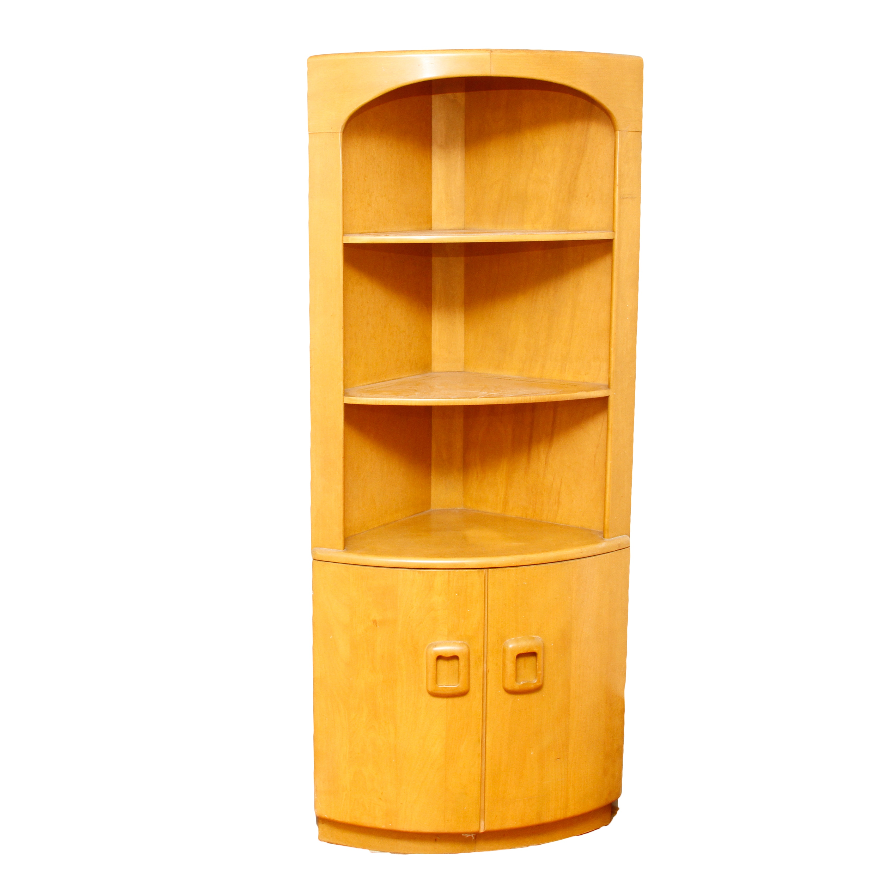 Heywood Wakefield Mid Century Modern Corner Cabinet