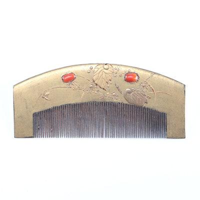 Vintage Japanese Kushi Comb