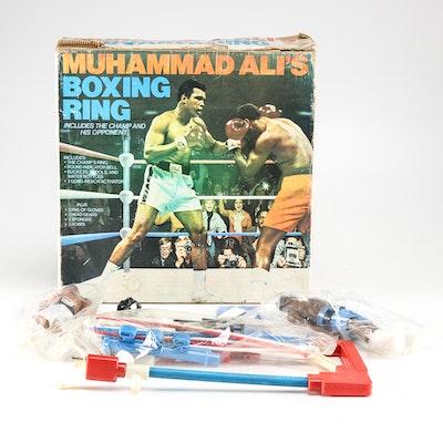 "1976 Mego ""Muhammad Ali's Boxing Ring"" Play Set"
