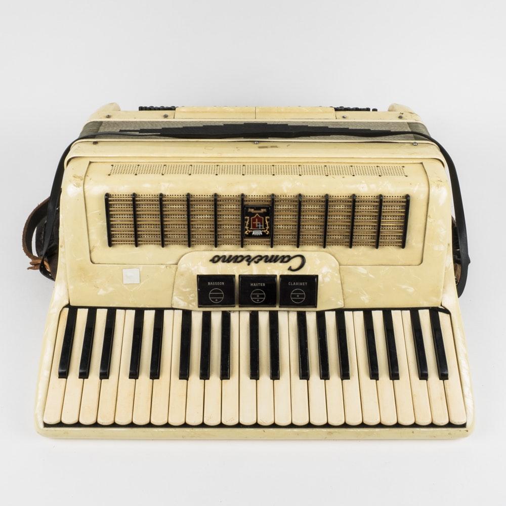 Vintage Camerano Accordion