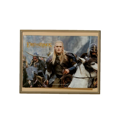 """""""Lord of the Rings"""" Legolas Framed Poster"""