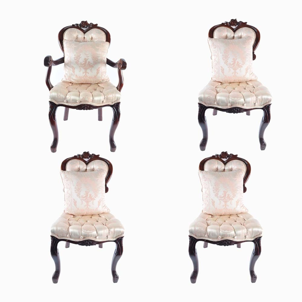 Victorian Style Sweetheart Chairs