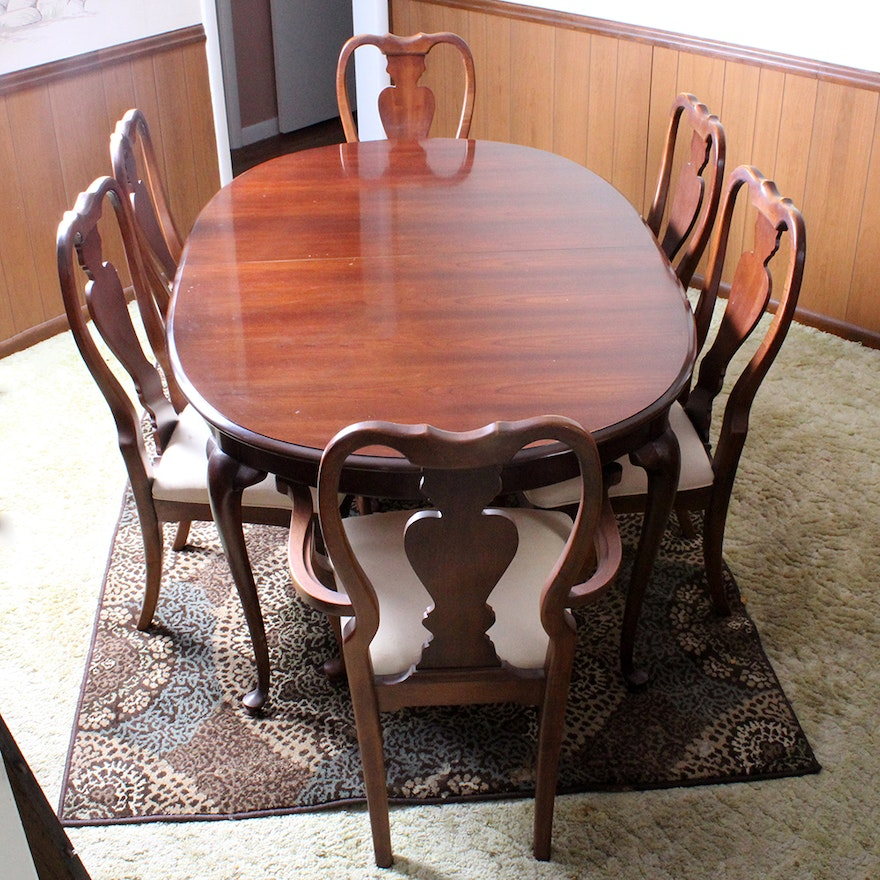 Amazing Traditional Colonial Style Dining Table And Chairs Download Free Architecture Designs Rallybritishbridgeorg