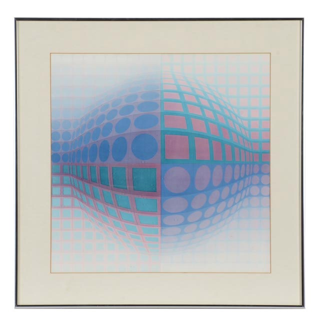 Offset Lithograph after Victor Vasarely