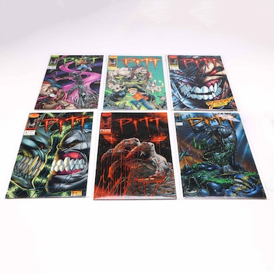 Collection of 1990s Image Comic Books