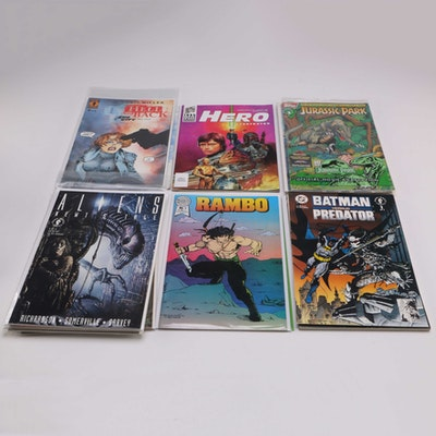 Collection of Dark Horse Comic Books