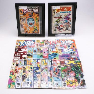 Marvel X-Factor and Uncanny X-Men Comic Books