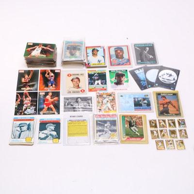 Assortment of Baseball and Basketball Cards