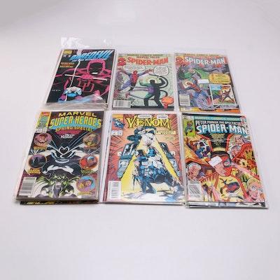 Marvel Comics Including Spider-Man and Venom