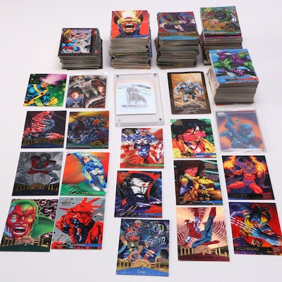 Collection of Comic Book Trading Cards