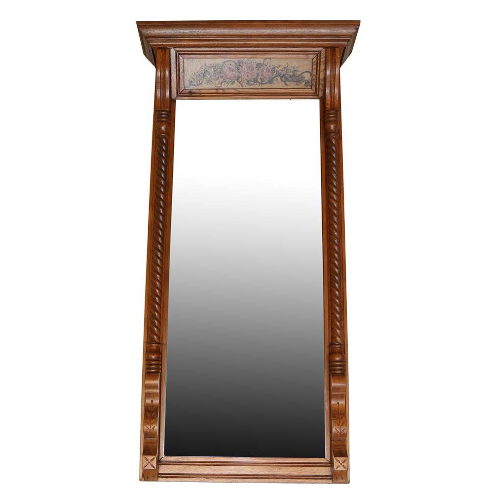 Hand Painted Dressing Mirror