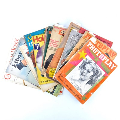 Magazines From 1935 and 1936 Featuring Articles About the Dionne Quintuplets