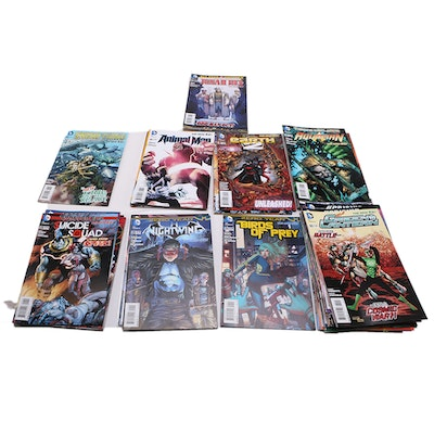2013-2014 Collection of DC Comic Books