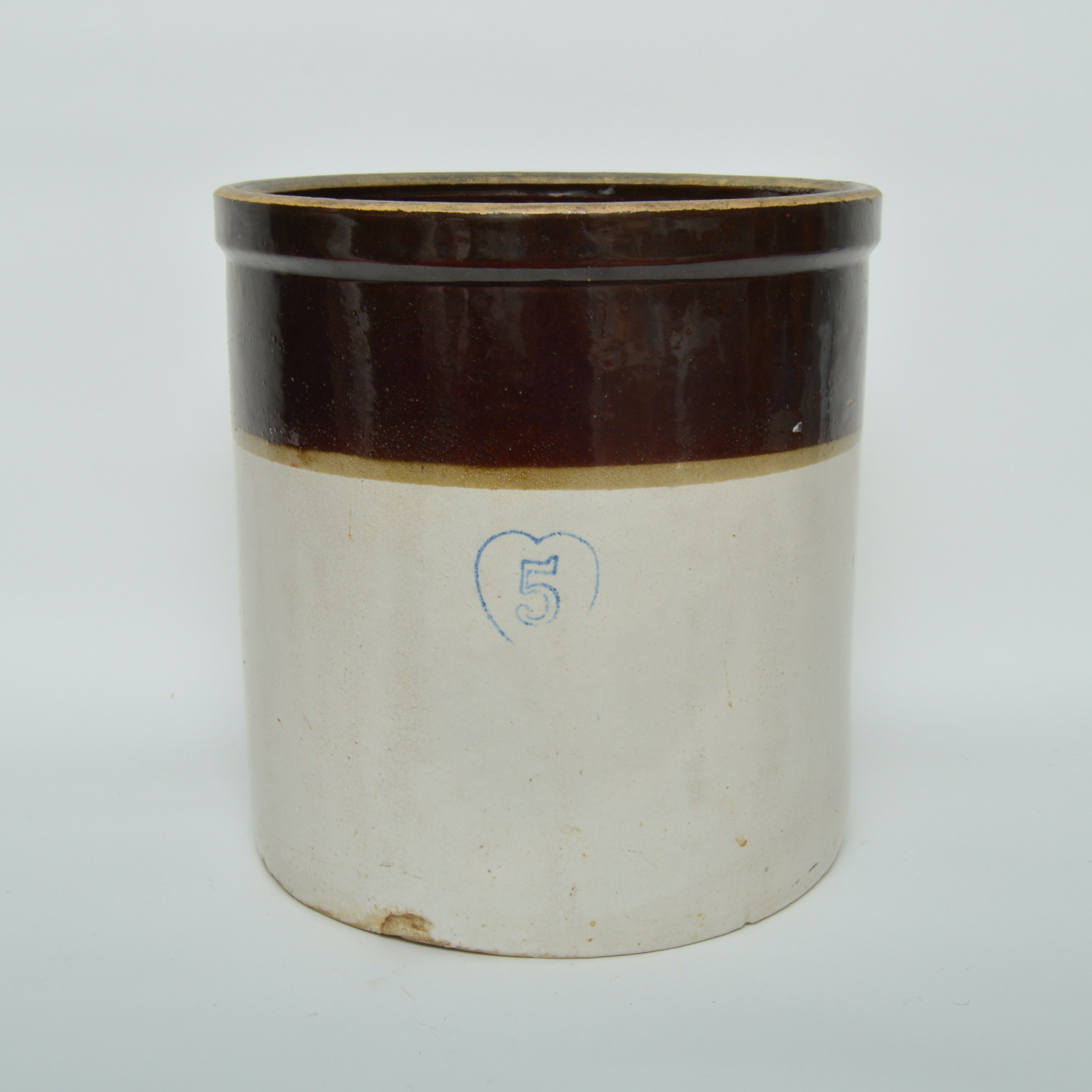 Five Gallon Stoneware Crock