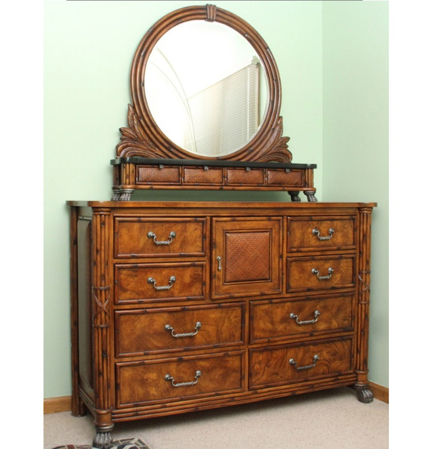 American Signature  West Indies  Dresser with. American Signature  West Indies  Dresser with Mirror   EBTH