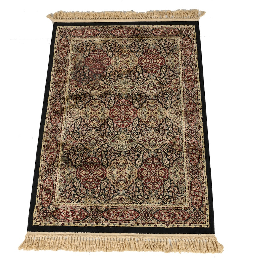Dark Fl Area Rug By Marcella Fine Rugs