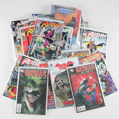 Collection of DC Comics Featuring Batman and Robin