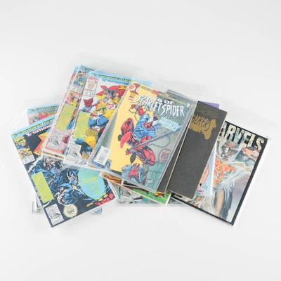 Collection of 1990s Marvel Comics