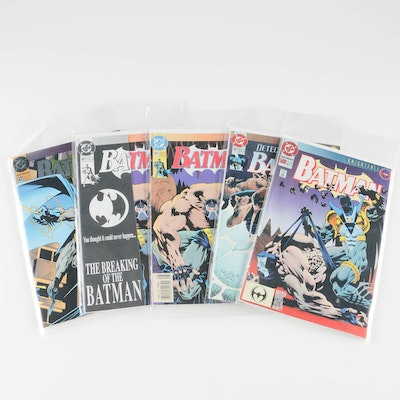 """Set of Selections From The """"Batman Knightfall"""" Series"""