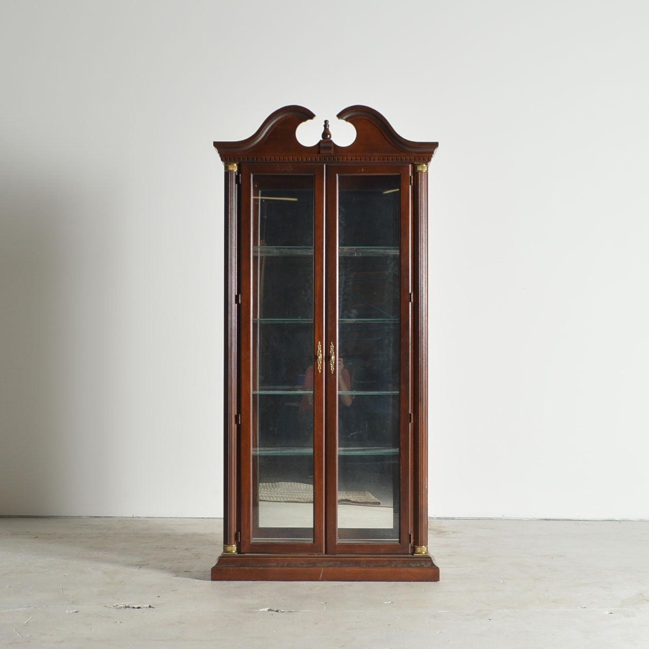 Attirant Lighted Curio Cabinet By Philip Reinisch ...