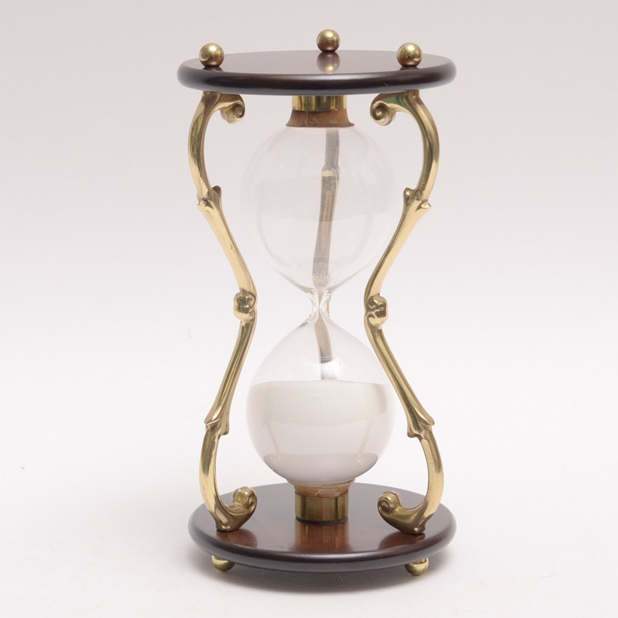 Bombay Co Decorative Hourglass Ebth - Decorative-hourglass
