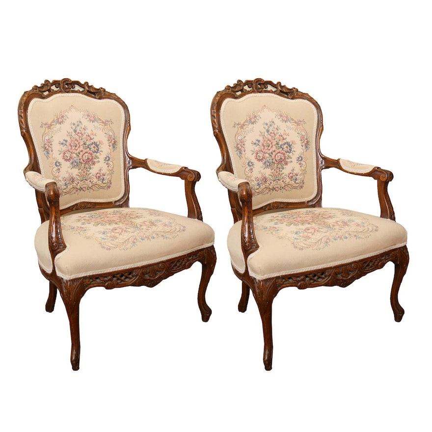 Antique Victorian Parlor Chairs ... - Antique Victorian Parlor Chairs : EBTH